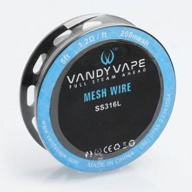 authentic-vandy-vape-ss316l-mesh-wire-diy-heating-wire-for-mesh-rda-12-ohm-ft-5-feet-200-mesh